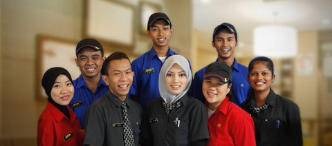 Dunia kita satu, gambar dipetik dari http://www.mcdonalds.com.my/our_people/careers/best-employer.aspx